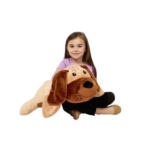 Melissa & Doug Cuddle Dog Jumbo Stuffed Animal 4