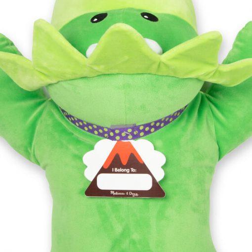 Jumbo Stuffed Dinosaur name tag