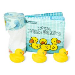 Three Little Duckies Bath Book and Toy set Float-Alongs Melissa & Doug