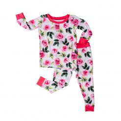 Little Sleepies Roses Pajama Set for Babies and Toddlers
