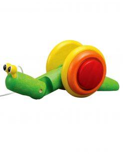 PlanToys Pull-Along Snail 2
