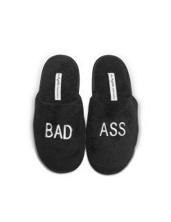 Bad Ass Women's Plush Slippers