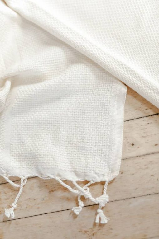 PCB Home Mom Blanket Fringe