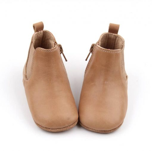 Baby Brown Leather Boots Sizes 2-8