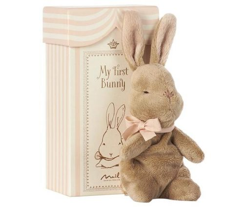 paper bunny gift rose box