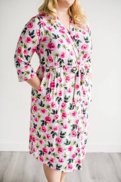 Little Sleepies Roses Women's Robe