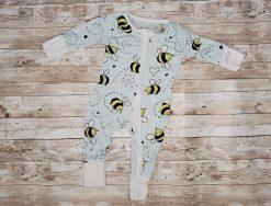 Little Sleepies Bees Newborn Very Good Used Condition