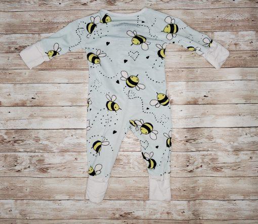 Little Sleepies Bees Bamboo Zippy Outlet Size Newborn