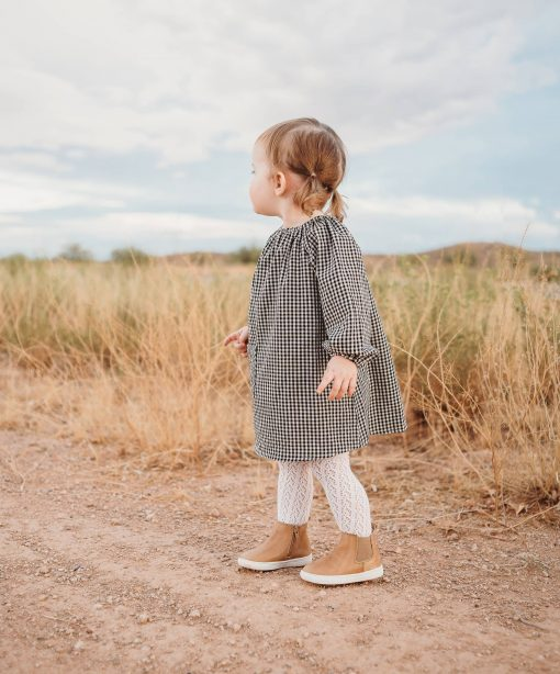 Tan Leather Boots by Consciously Baby