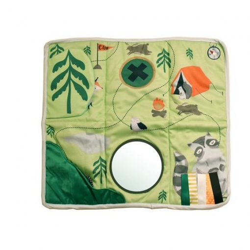 Floor Play Mat for Baby featuring whimsical forest creatures by Manhattan Toys