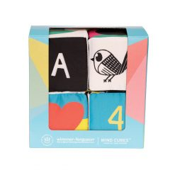 Visual learning cubes for babies