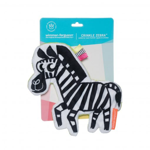 Crincle Zebra toy for babies