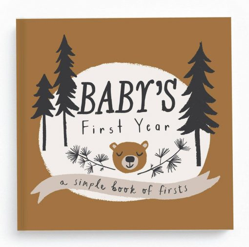 Lucy Darling Little Camper Baby Memory Book