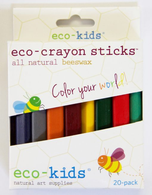 Eco-Crayons Sticks All Natural Beeswax by eco-kids