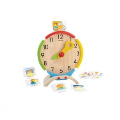 PlanToys Activity Clock