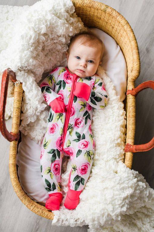 Roses Bamboo Sleeper for Girls