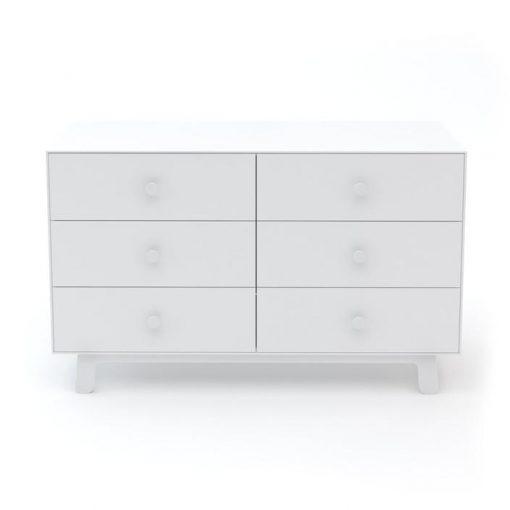 Oeuf Sparrow 6 Drawer Dresser - White