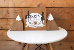 Forest-Themed Baby Memory Book