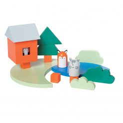 Camp Acorn Wood Playset by Manhattan Toy Company