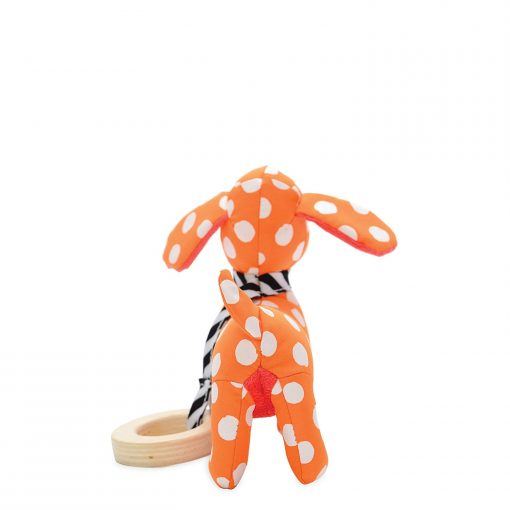 Dog baby rattle