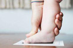 Newborn footprint kit