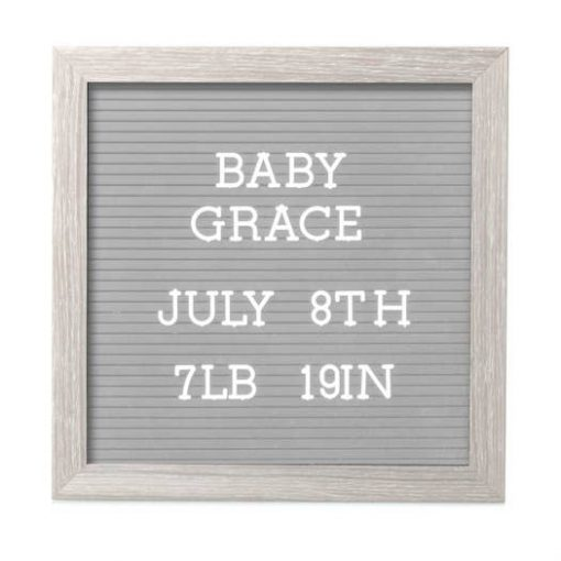 Letterboard Set for Baby Milestones and Pregnancy Announcements