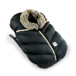 7AM Enfant Faux Fur Car Seat Cocoon