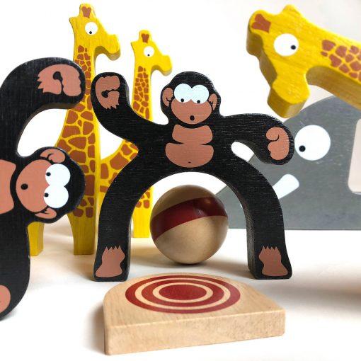 Safari Bowling Game from BeginAgain Toys