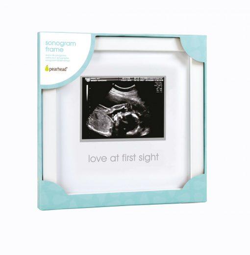 White Sonogram Ultrasound Frame