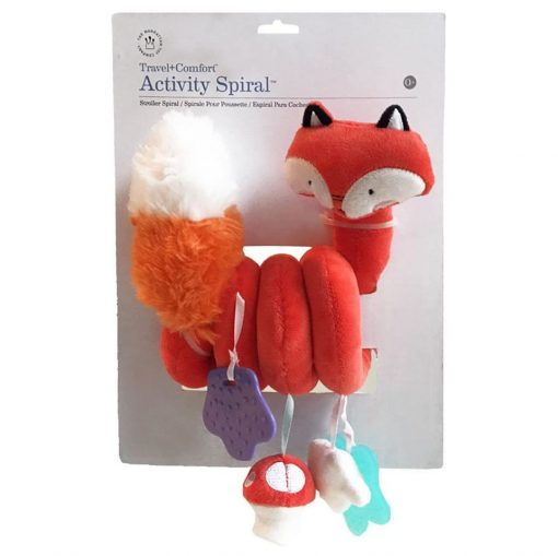 Fox rattle toy