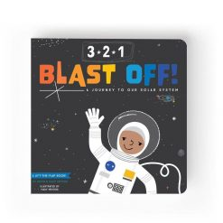Lucy Darling 3-2-1 Blast Off Children's Book