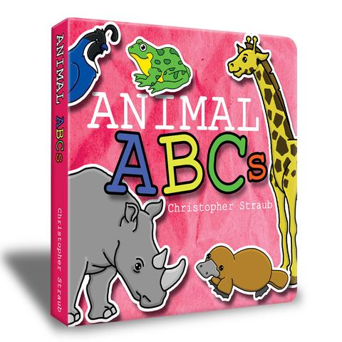 Christopher Straub Animal ABCs Board Book
