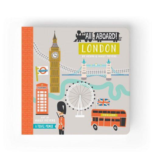 Lucy Darling All Aboard London Children's Board Book