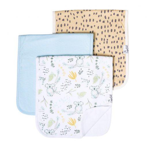 Aussie Burp Cloth Set 3-Pack