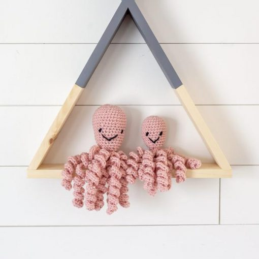 Baby Octopi in Pink Cali Signature and Mini