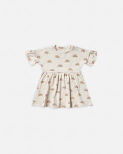 Rylee + Cru Rainbow Suns Babydoll Dress