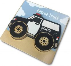 Trucks Wooden Puzzles for Toddlers