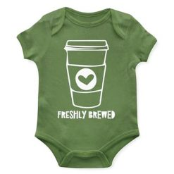 Emerson and Friends Freshly Brewed Coffee Baby Onesie