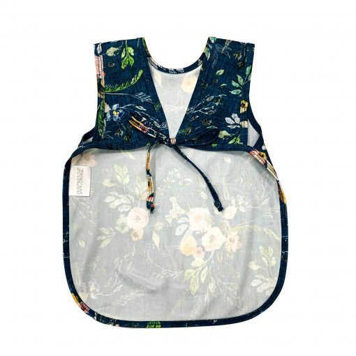 Dark Blue Baby Big with Floral Pattern