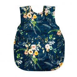 Bapron Boho Floral Bib-Apron