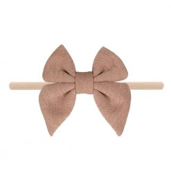 Emerson and Friends Champagne Jersey Bow Baby Headband