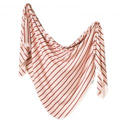 Cinnamon Knit Swaddle Blanket