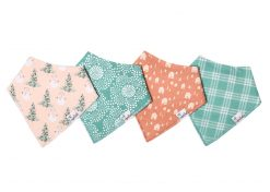 Jane Holiday Bib Set 4-Pack