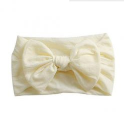 Emerson and Friends Cream Bow Baby Headband