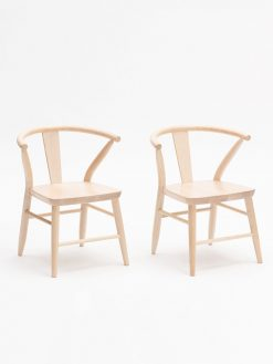 Natural Children's Chairs Made in the US