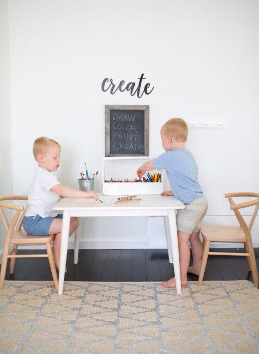 Milton & Goose Crescent Kid's Table