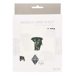 Kyte BABY Crib Sheet in Elephant