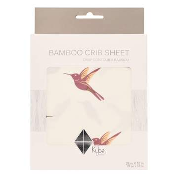 Kyte BABY Crib Sheet in Hummingbird