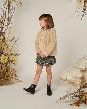 Fall Oat Colored Shearing Coat
