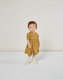 Acorn Print Dress by Rylee + Cru